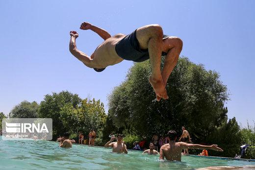 تفریحات تابستانی در پارک ملی بش قارداش بجنورد