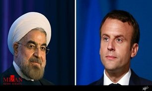 Iran urges France to help end sanctions for 'new dynamics' with Europe
