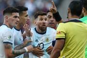 الفاظ زشت مسی خطاب به بازیکن بولیوی