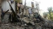 تخریب ساختمان ۳ طبقه/ نجات خانم ۷۰ ساله از زیر آوار