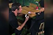 فیلم | خواستگاری مدافع سپاهان در رستوران