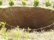 فرونشست زمین باعث از مدار خارج  شدن ۵ چاه آب شرب در مهرشهر شد