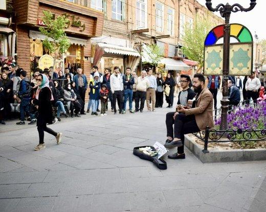 تبریز، شهر کنسرتهای خیابانی