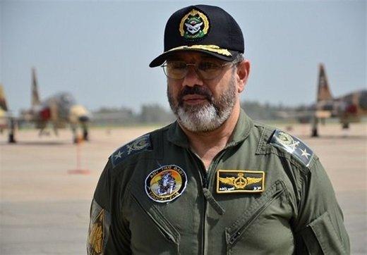 فرمانده نیروی هوایی ارتش: طالب جنگ نیستیم /هرگونه تجاوز با پاسخ کوبنده روبرو میشود/ اجازه تهدید به دشمن نمیدهیم