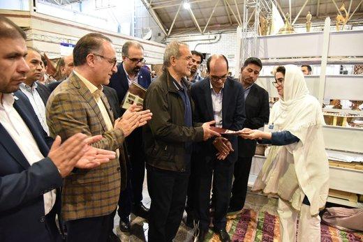 غرفههای برتر نمایشگاه ملی صنایع دستی معرفی شدند