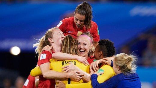 زنان آمریکا برای چهارمین بار قهرمان فوتبال دنیا شدند