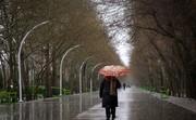 بارشهای پراکنده در استانهای مختلف/ آسمان تهران، صاف