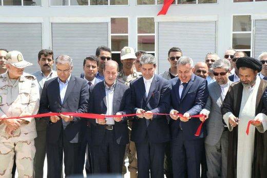 افتتاح بازارچه مرزی ساری سو