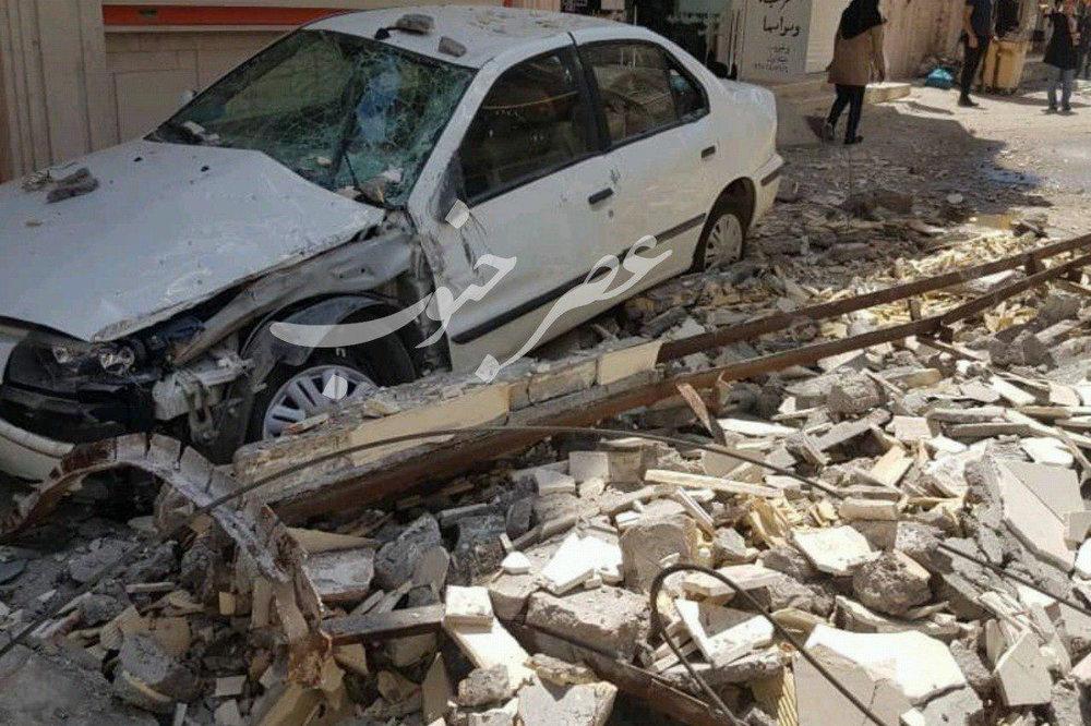 زلزله ۵.۷ ریشتری در مسجد سلیمان/ یک کشته، ۴۰ مصدوم/ تصاویر