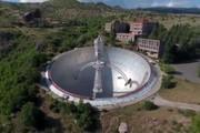 فیلم | کشف رادیو تلسکوپ سری شوروی در ارتفاعات ارمنستان