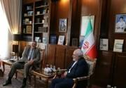 نماینده سازمان ملل در امور لبنان با ظریف دیدار کرد/ عکس