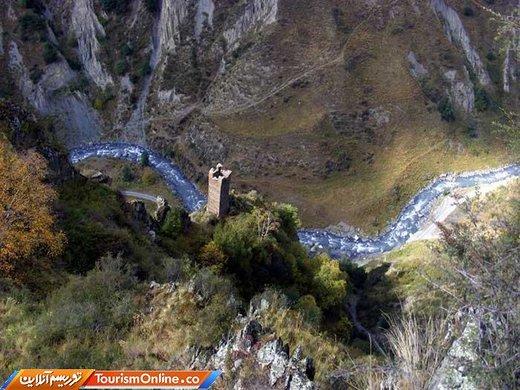 منطقه کوهستانی خوسورتی گرجستان
