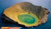 تصاویر   جزیره زیبایی که از فشرده شدن خاکستر آتشفشانی تشکیل شده