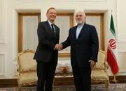مستشار الرئيس الفرنسي يلتقي وزير الخارجية الايراني