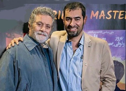 Image result for شهاب حسینی و بهروز وثوقی