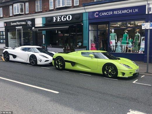 خودروهای سوپرلوکس در برکشایر انگلستان