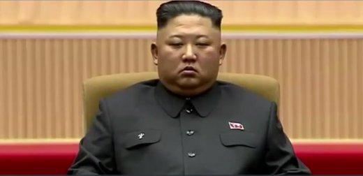 چرت زدن رهبر کره شمالی جنجالآفرین شد/عکس