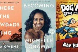 «جایی که خرچنگها آواز میخوانند» کتاب میشل اوباما را جا گذاشت