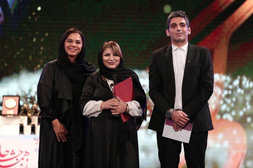 هایده صفی یاری، مستانه مهاجر و حمید گودرزی در نوزدهمین جشن حافظ