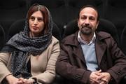فیلم | اصغر فرهادی و همسرش در تئاتر اشکان خطیبی