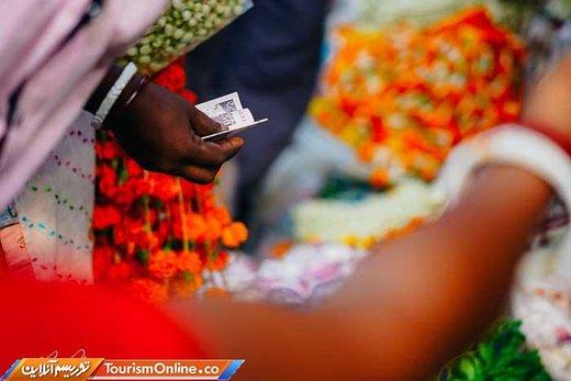 بازار گل کلکته هند