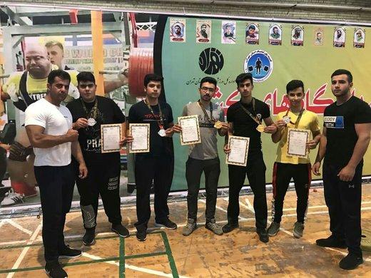 نوجوانان چهارمحال و بختیاری قهرمان پاورلیفتینگ ایران شدند