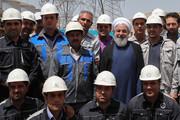 تصاویر   افتتاح فاز دوم نیروگاه سیکل ترکیبی شیروان توسط رئیسجمهور