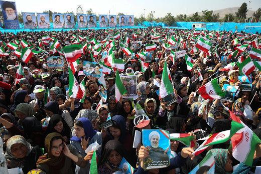 حضور رئیسجمهور در جمع مردم شهرستان شیروان