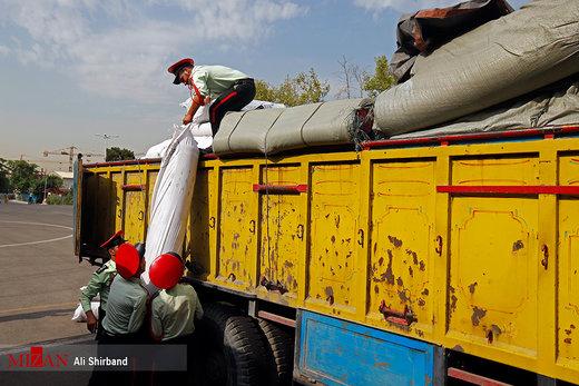 کشف محموله بزرگ پارچه و پوشاک قاچاق در تهران