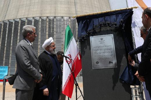 بحضور روحاني..افتتاح المحطة الكهروغازية في شيروان