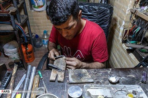 ساخت سنتی انگشتر