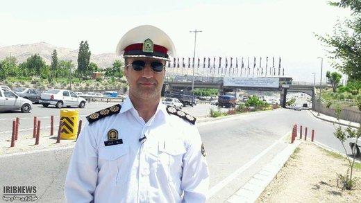 رئیس پلیس راه استان البرز: البرز، پایلوت استفاده از پهبادهای کنترل ترافیک کشور شد