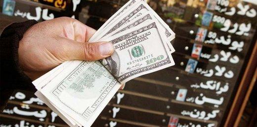 عقبنشینی دلار در برابر ریال ایران
