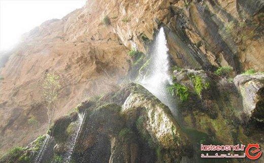 آبشار شاه لولاک، جاذبه بینظیر اصفهان در شهرستان لنجن