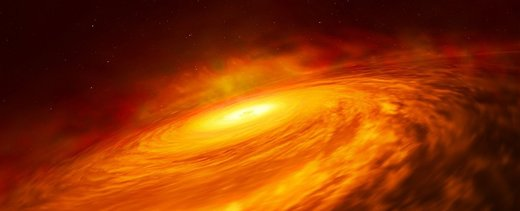 عجیبترین سیاه چاله کشف شده تا به امروز
