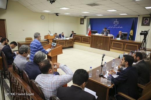 اولین جلسه دادگاه متهمان وزارت صنعت