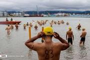 تصاویر | مسابقات شنا در دریای خزر