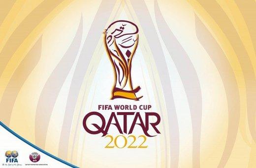 رونمایی فیفا از لوگوی عنابی جام جهانی 2022/عکس