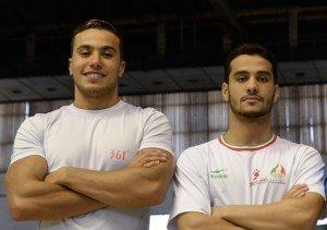 شناگران ایران در راه قهرمانی جهان