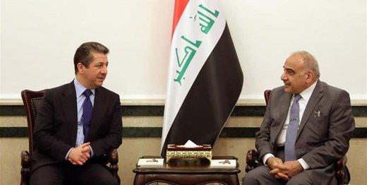 بارزانی با نخستوزیر عراق دیدار کرد