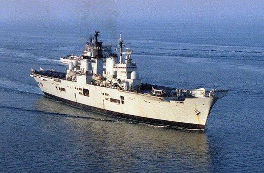 تحلیل روزنامه تایمز درباره اعزام ناو جنگی انگلیس به خلیج فارس