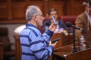 تصاویر | نجفی در دادگاه دست به اسلحه شد!