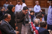 تصاویر | دختر و داماد نجفی در دادگاه
