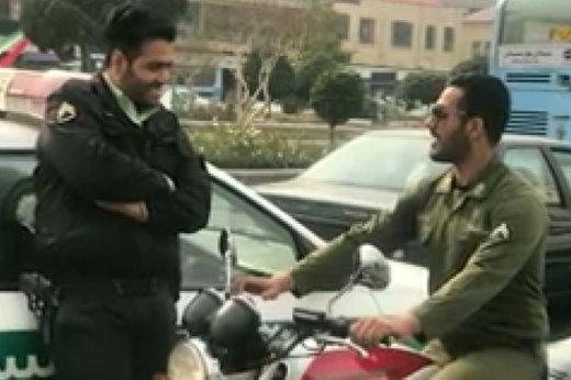 فیلم   سربازی که جانش را برای دستگیری مواد فروش به خطر انداخت