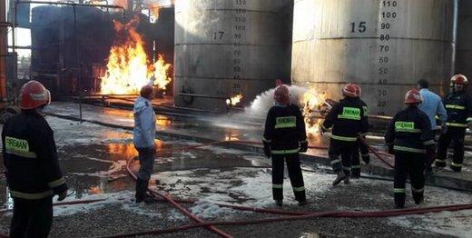 آتش سوزی مرگبار در کارخانه صنعتی/ ۴ کشته و مجروح