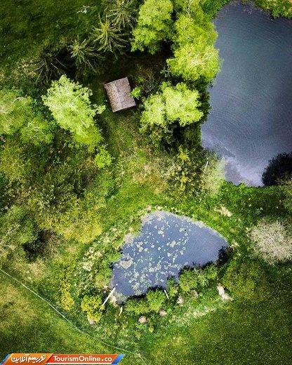 عکس ارسالی به رقابت عکاسی هوایی آگورا ۲۰۱۹