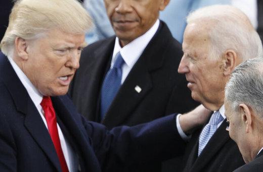 جو بایدن ترامپ را به یک چالش دعوت کرد