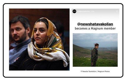 گم شدن خبر موفقیت هنرمند زن ایرانی در میان جنجالهای مجازی