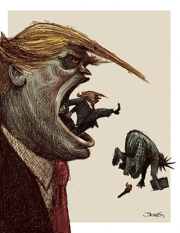 اُردنگی ترامپ به «آزادی» را ببینید!