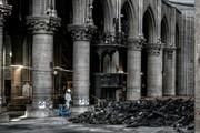 تصاویر | بازسازی کلیسای نوتردام شروع شد